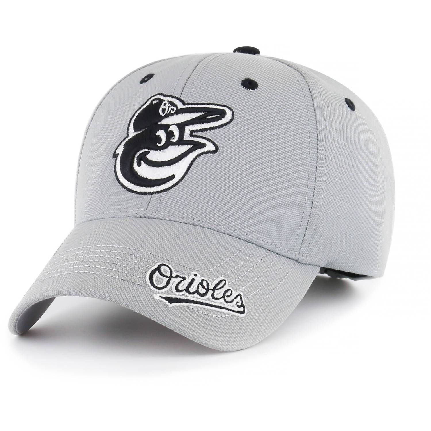 108020b72f9 Baltimore Orioles MLB Baseball Cap   Hat - Grey in 2019