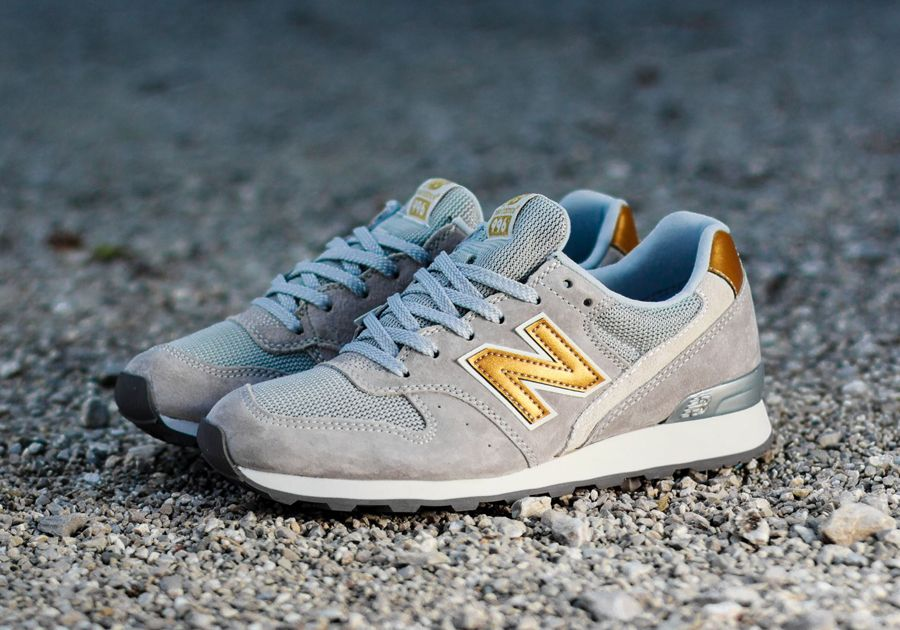 new balance gold and grey