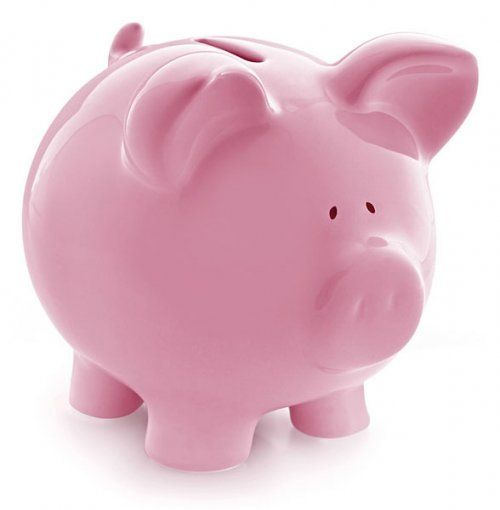 The Unlikely Triathlete On Wordpress Com Pink Piggy Bank Piggy Bank Piggy