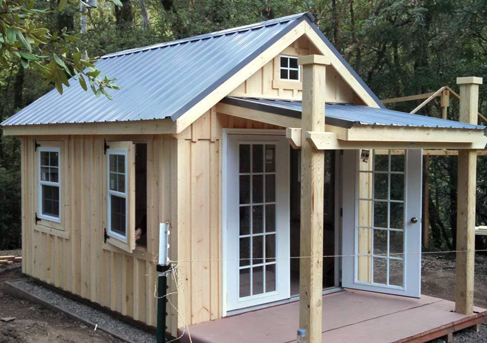 Backyard Unlimited Offers Tiny Adaptable Amish Built Structures