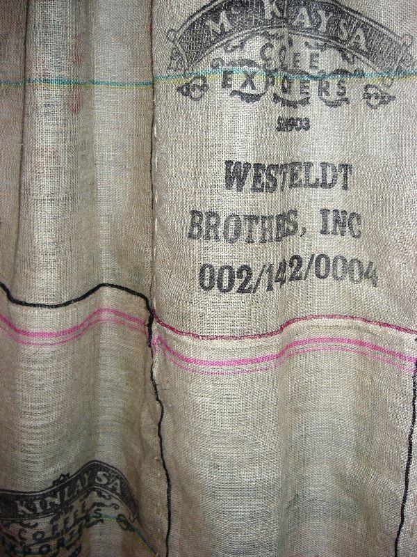 Burlap Coffee Bag Shower Curtain Burlap Coffee Bags Burlap Shower Curtains Burlap Curtains