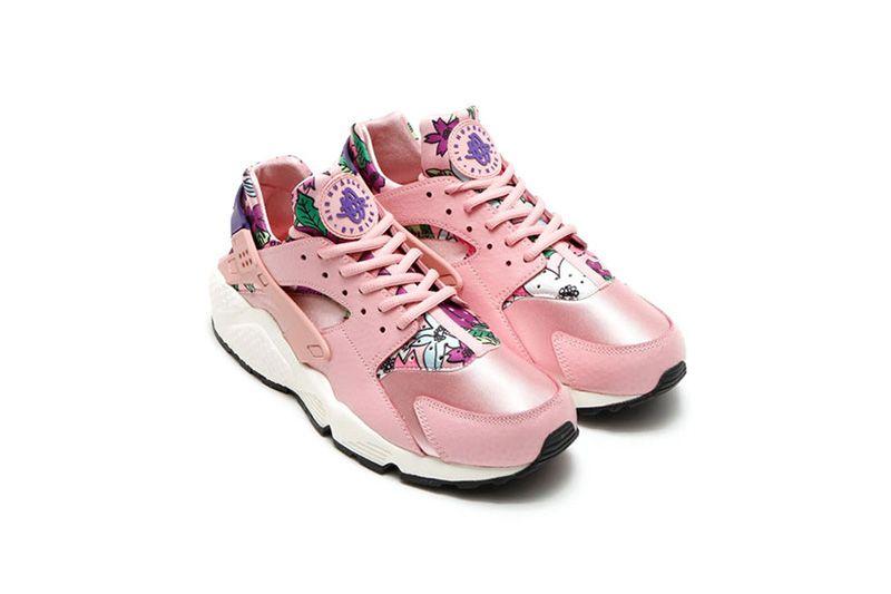 屬於女生們的夏日「Floral」:Nike Air Huarache 三色強勢登場!