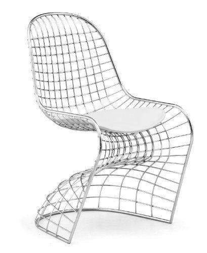 Zuo Wickham Dining Chair Chrome