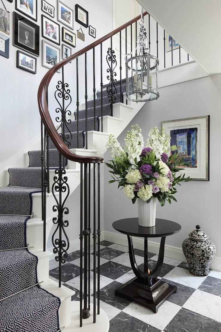Belle maison à l\'intérieur design « so british » | British, Foyers ...