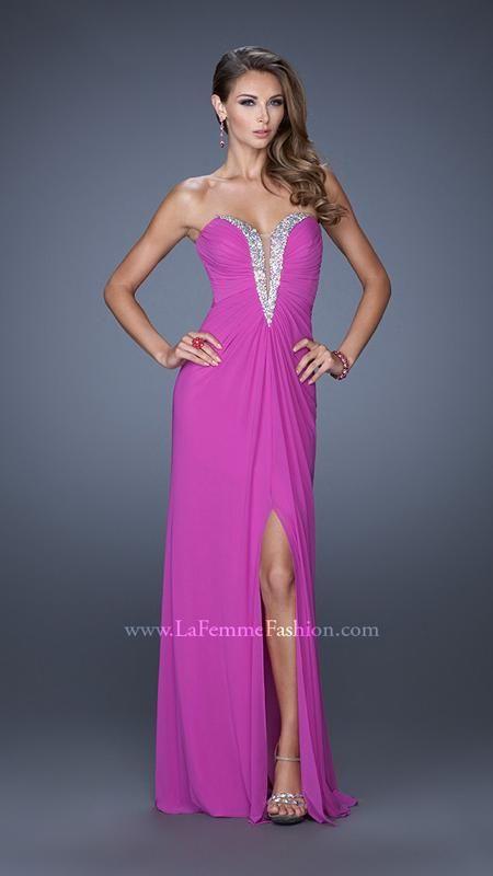 La Femme 19679 | La Femme Fashion 2015 - La Femme Prom Dresses - La Femme Short Dresses