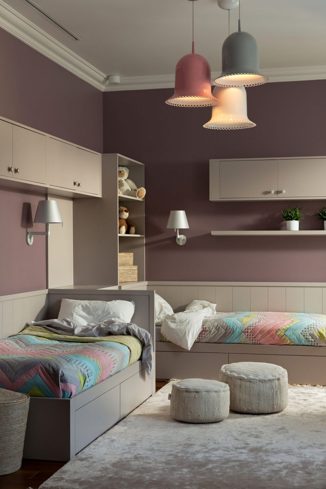 Pinterest Schlafzimmer Mädchen Two Level Apartment In Kiev By Lera Katasonava 17