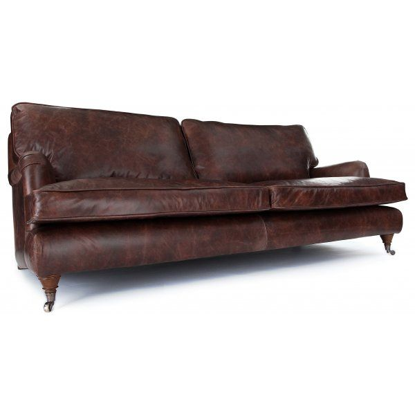 Howard 3 Seat Sofa Vintage Sofa Old Boots Howard Sofa