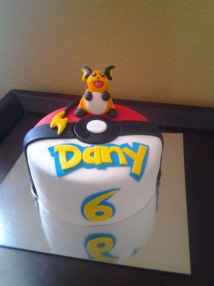Raichu cake