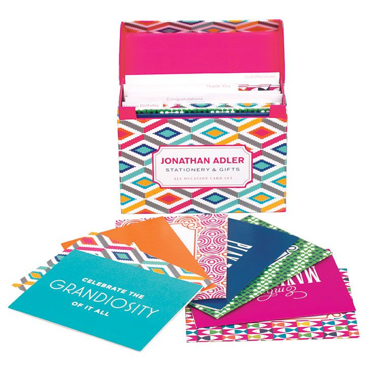 Jonathan Adler All Occasion Boxed Card Set JAD130960