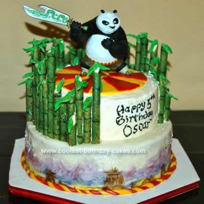 deco gateau kung fu panda