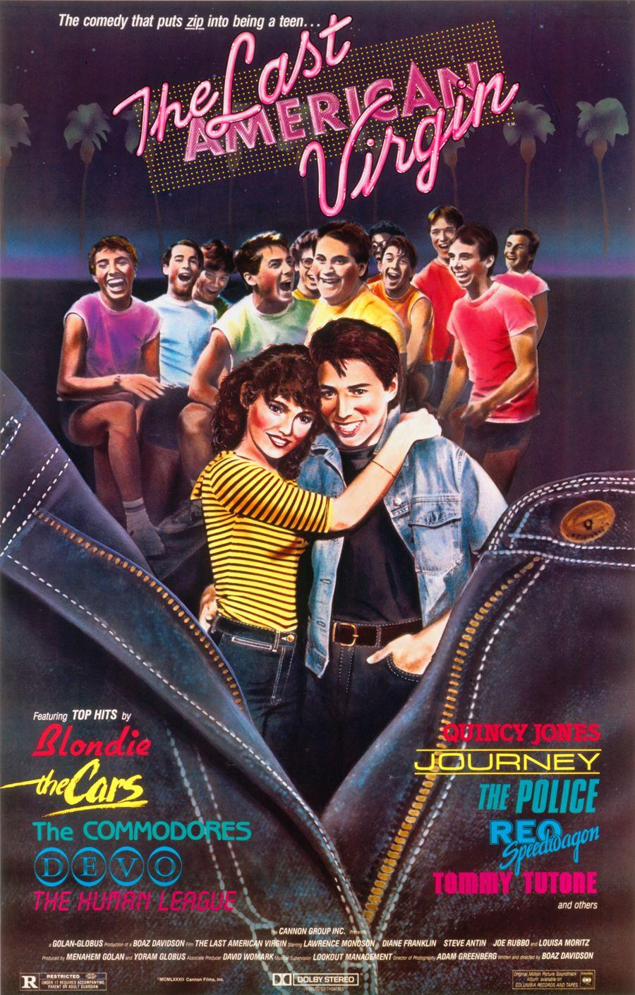 The Last American Virgin Lawrence Monoson Movies Movie Posters