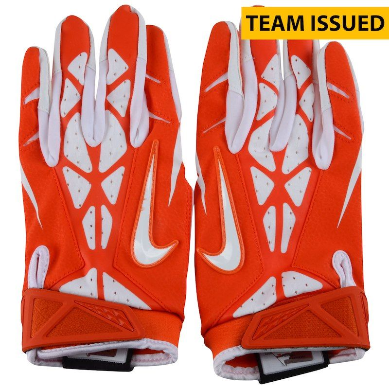 Clemson tigers fanatics authentic teamissued orange and