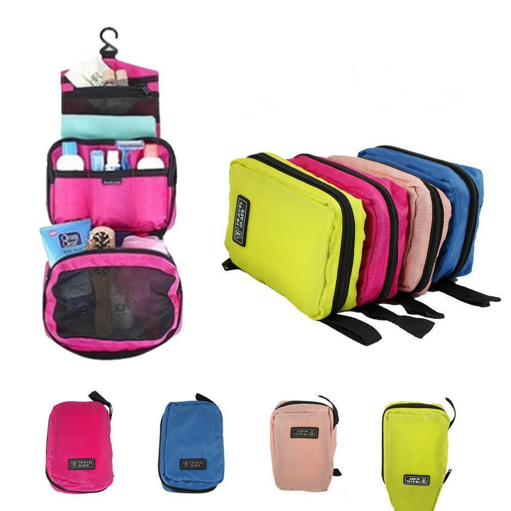 140b6d5b57 Travel Mate Bag Cosmetic Bags Storage Pouch Purse Travel Cosmetic Bag  Organizer Handbag Nylon Dual Zipper Makeup Bags. best checkpoint friendly  laptop ...