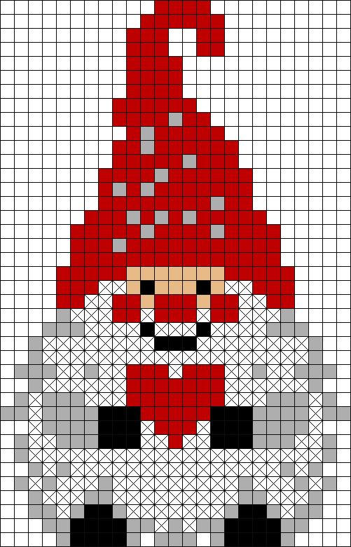 Photo of [25×39] Pixel || Natale | Christmas ? Elfo | Elf – Cross stitch designs – Alliso…