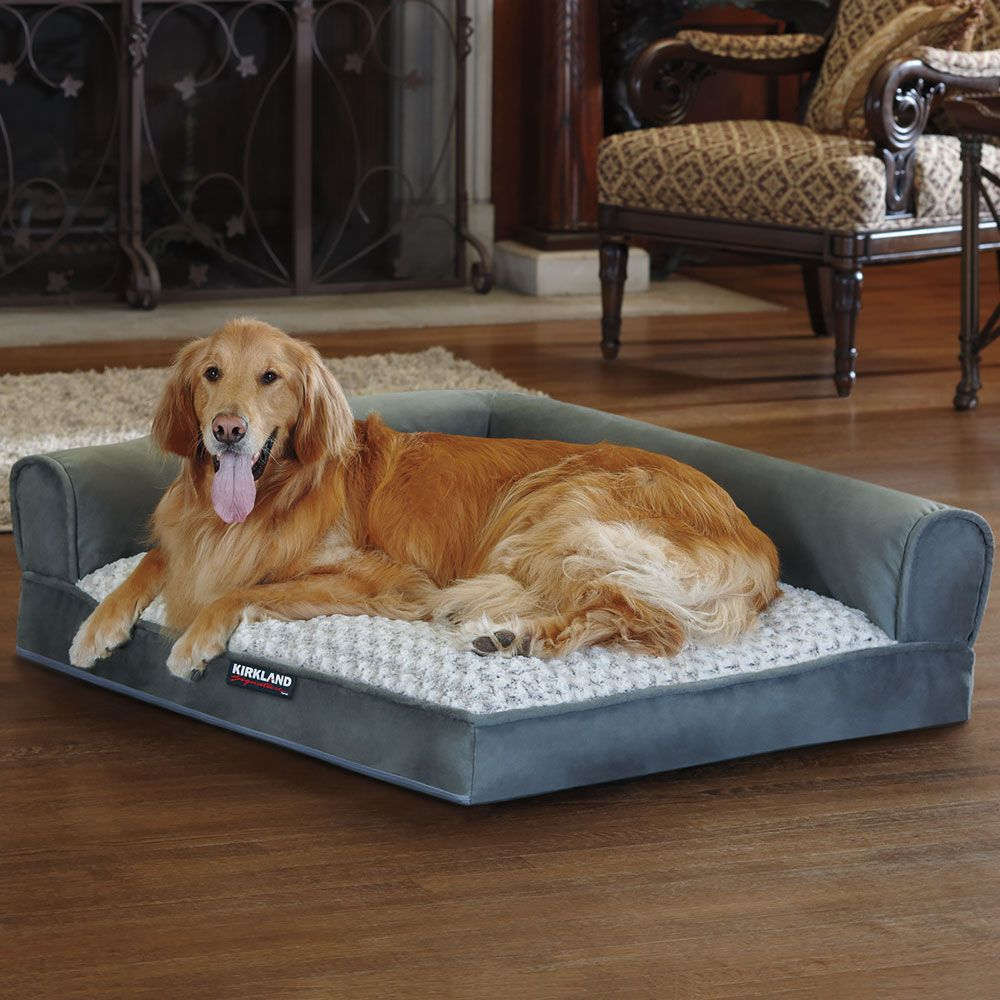 grey p signature kirkland uk x bed bolster dog c in costco beds sofa cm