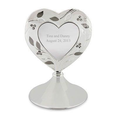 020617 Venice Heart Cake Topper Things Engraved