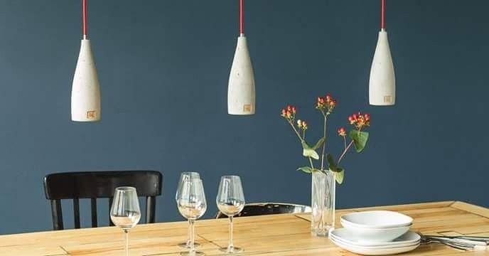 Esstisch Beleuchtung By LHK-Manufaktur   Beton Interior   Pinterest