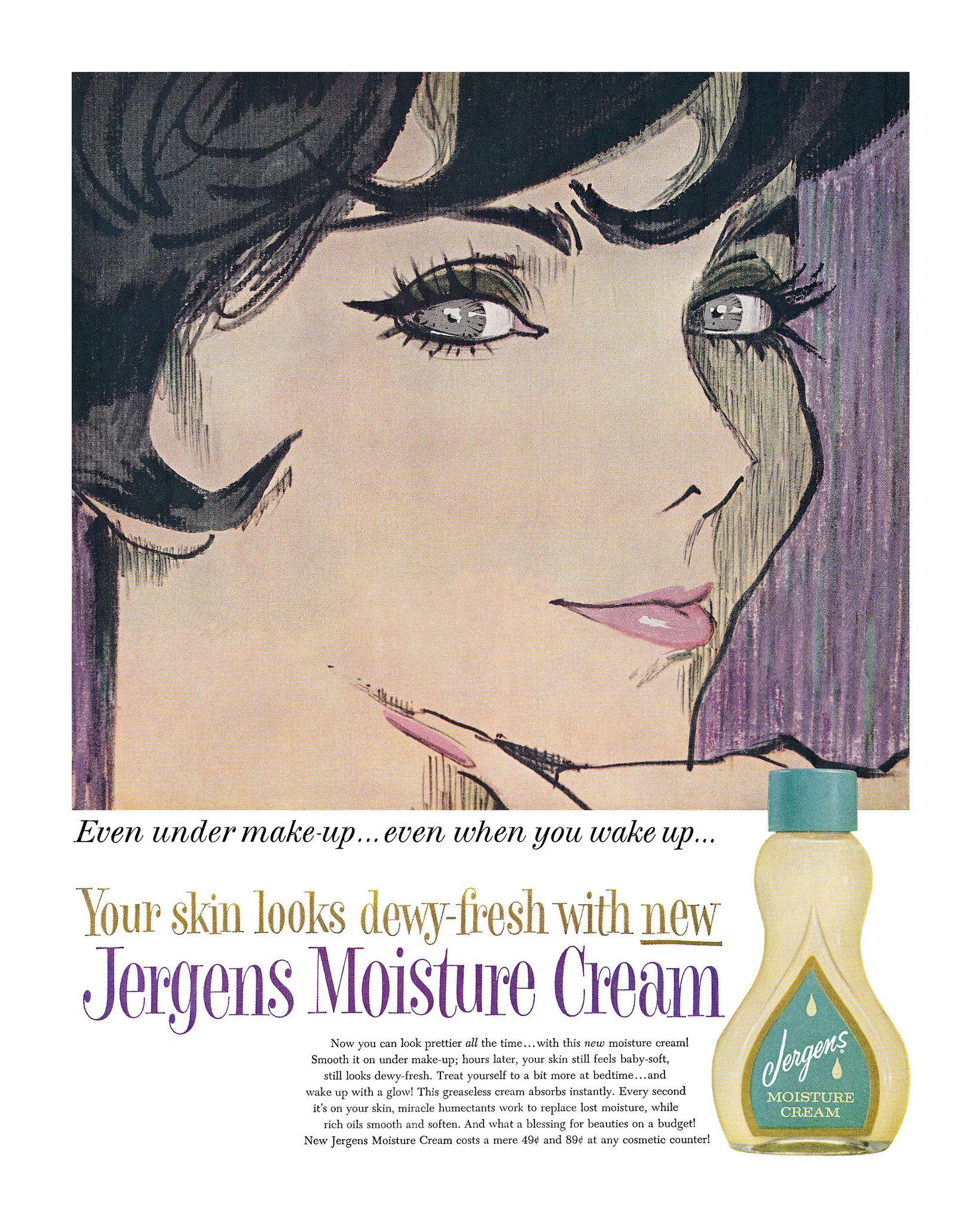 Jergens Moisture Cream ad