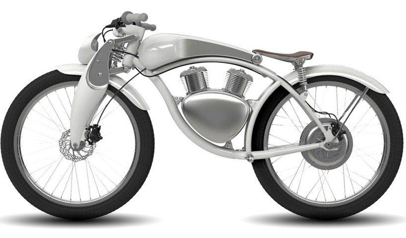 Munro Motor 2 0 Modernes Ebike Im Motorrad Retro Look Sie Liegen Derzeit Voll Im Trend Und Gelten Als Umweltfreundliches Fort E Bike Motorrad Motorrad Fahren