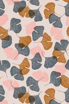 leaves scandinavian patterns pinterest - Buscar con Google