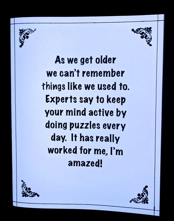Getting Older Card Cant Remember Now Who By PaperTreasuresShoppe 70th Birthday Happy