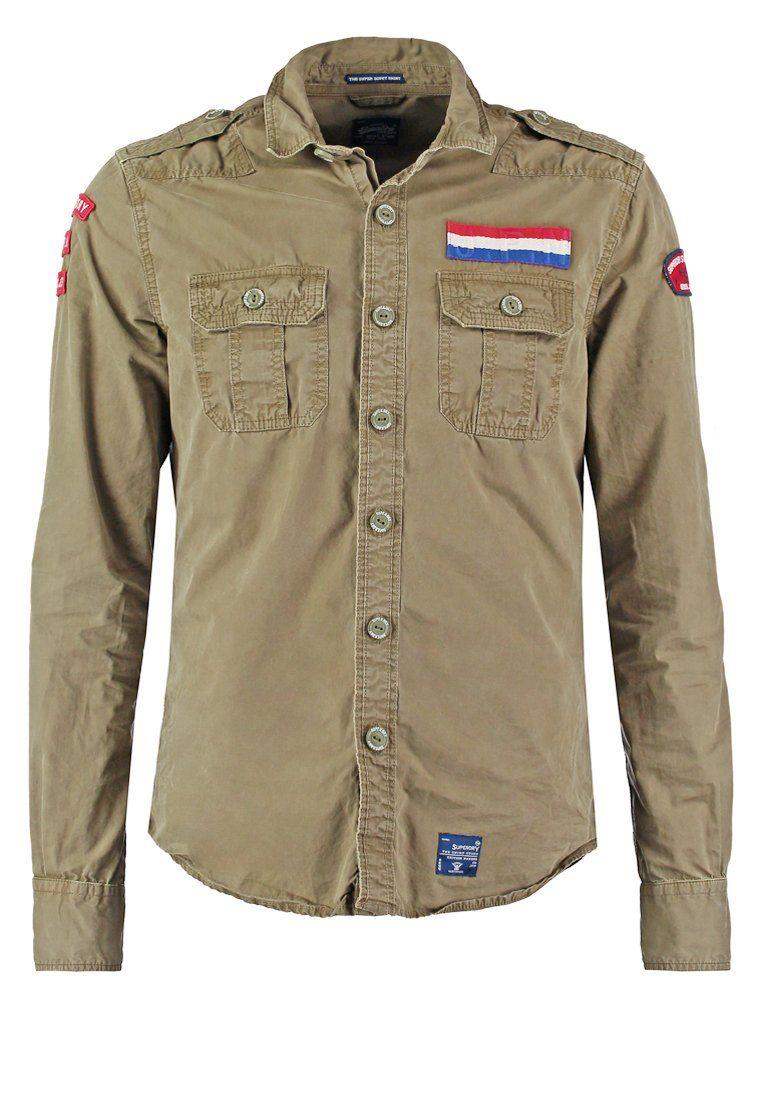 new style 25c7c 5382a Superdry Hemd - belize army - Zalando.de | Hemd & Bluse ...