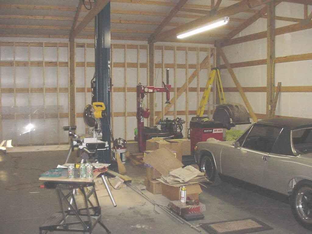 Pole Barn Insulation And Inside Finishing The Garage Journal