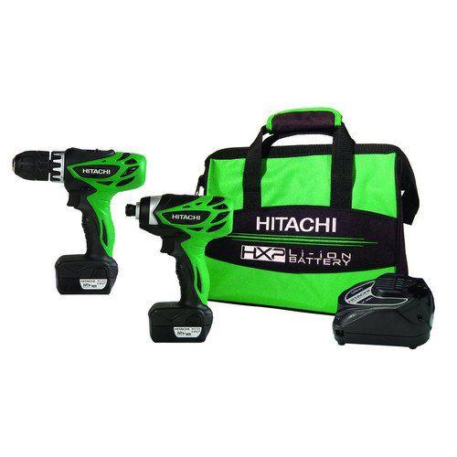 Hitachi Kc10dfl 12 Volt Peak 3 Tool Li Ion Combo Kit With Carrying Bag Combo Kit Hitachi Louis Vuitton Handbags