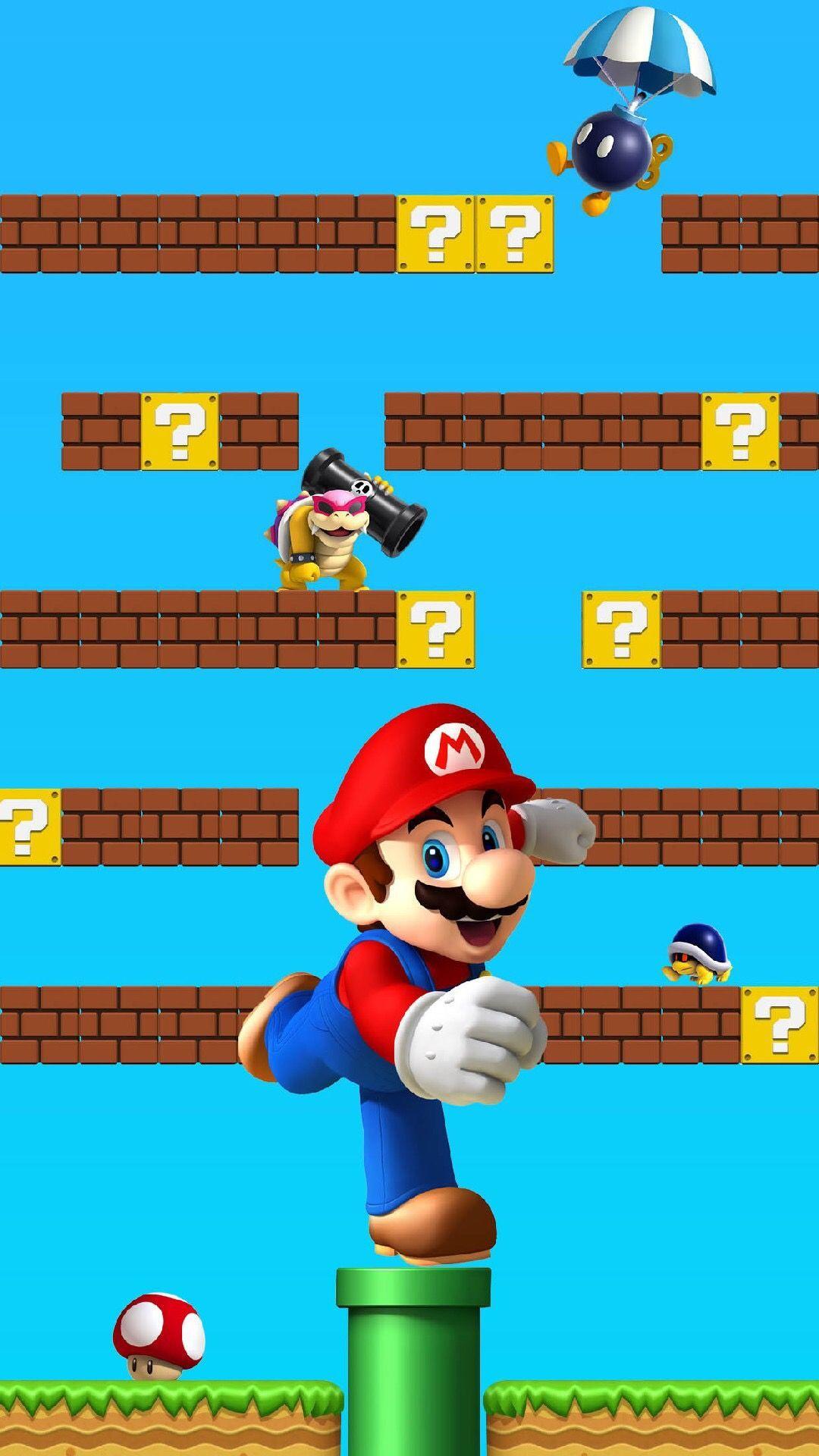 8 Bit Mario 8 Bit Mario Mario, 8 bit iphone wallpaper