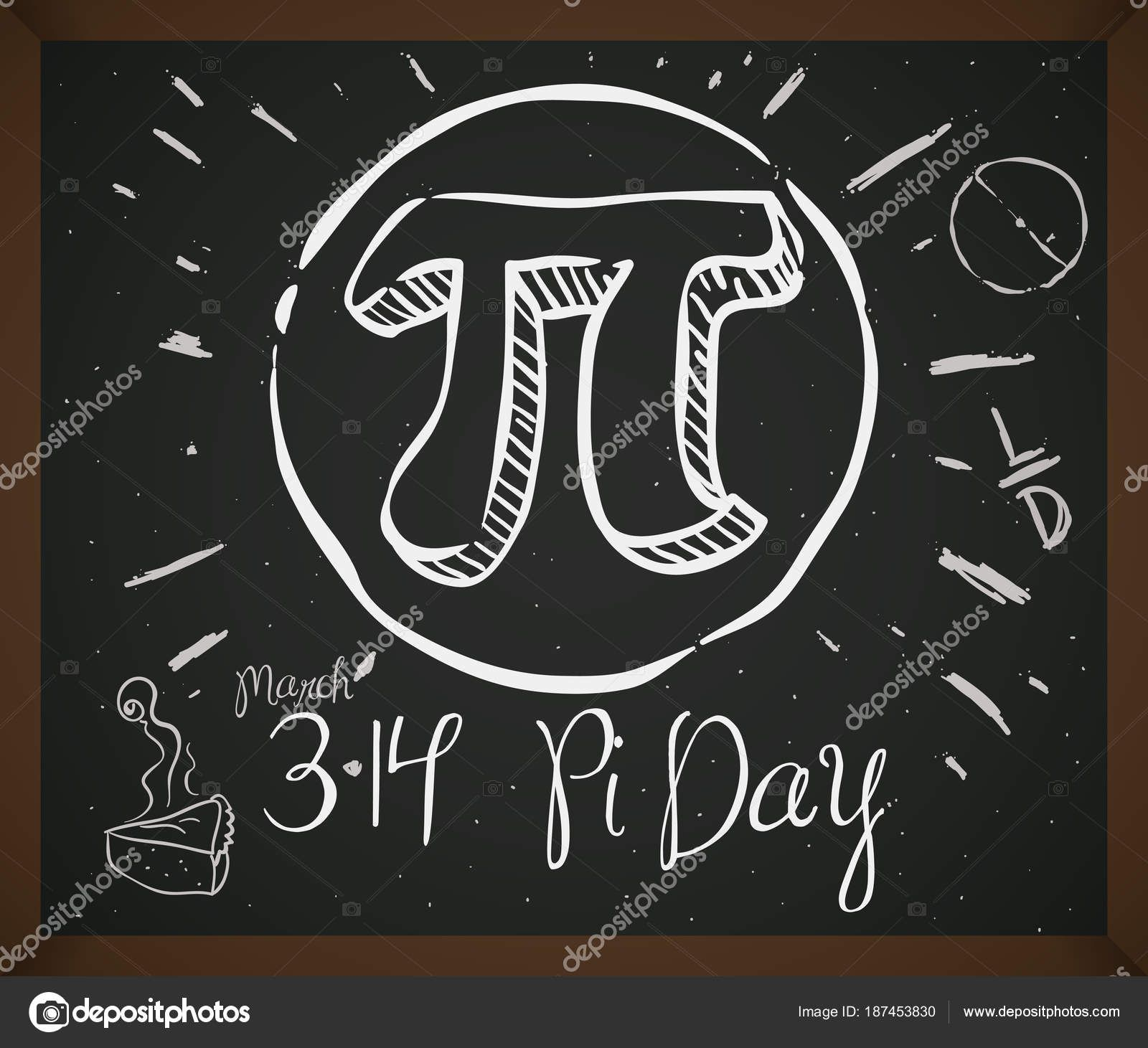 Doodle Drawing With Symbol Pie And Date For Pi Day Vector Illustration Doodle Drawings Doodles Drawings [ 1461 x 1600 Pixel ]