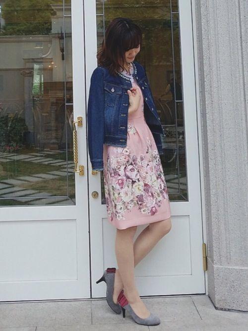 0ce75a1cad6 eiko(Rose Tiara) Rose Tiaraのデニムジャケットを使った ...