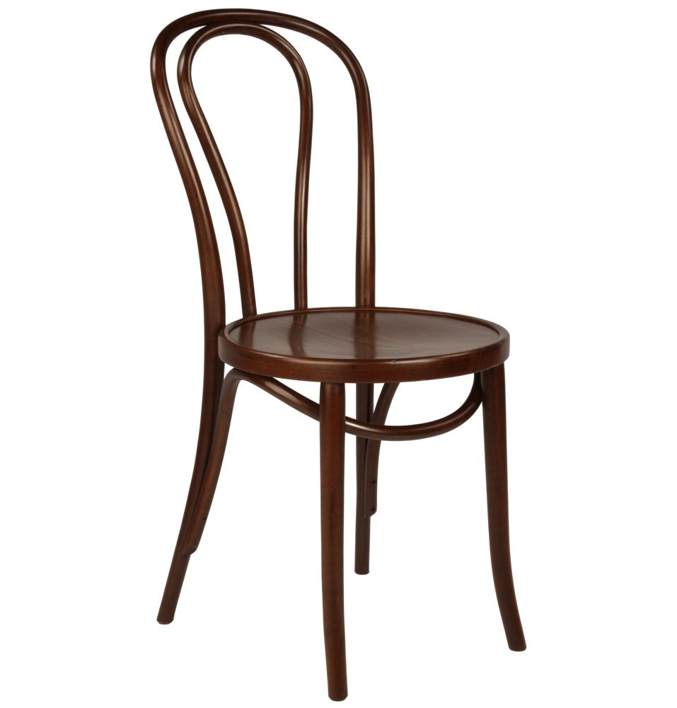 Replica thonet no 18 bentwood chair timber by get the look for Thonet replica chair