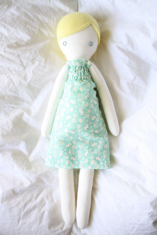 Plush rag doll: Annette