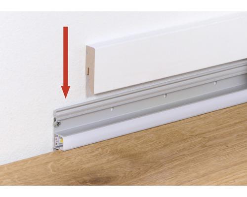 Led Profilschiene 2400x42x16 Mm Kaufen Bei Hornbach Ch Sockelleisten Moderne Hausentwurfe Beleuchtung Fur Zuhause