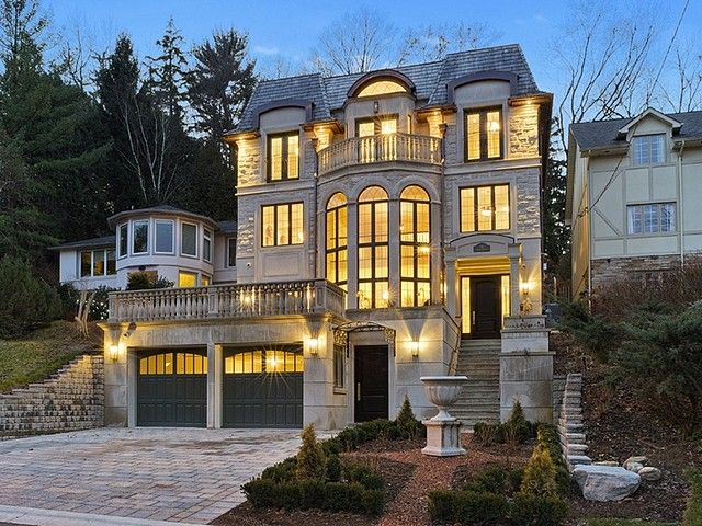 A Luxurious 4 Story New Build In Toronto Canada Luxury Real Estate Marketing Luxury House Designs Mansions Luxury