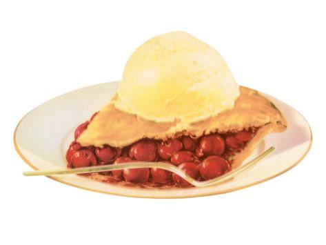 Cherry Pie a la Mode