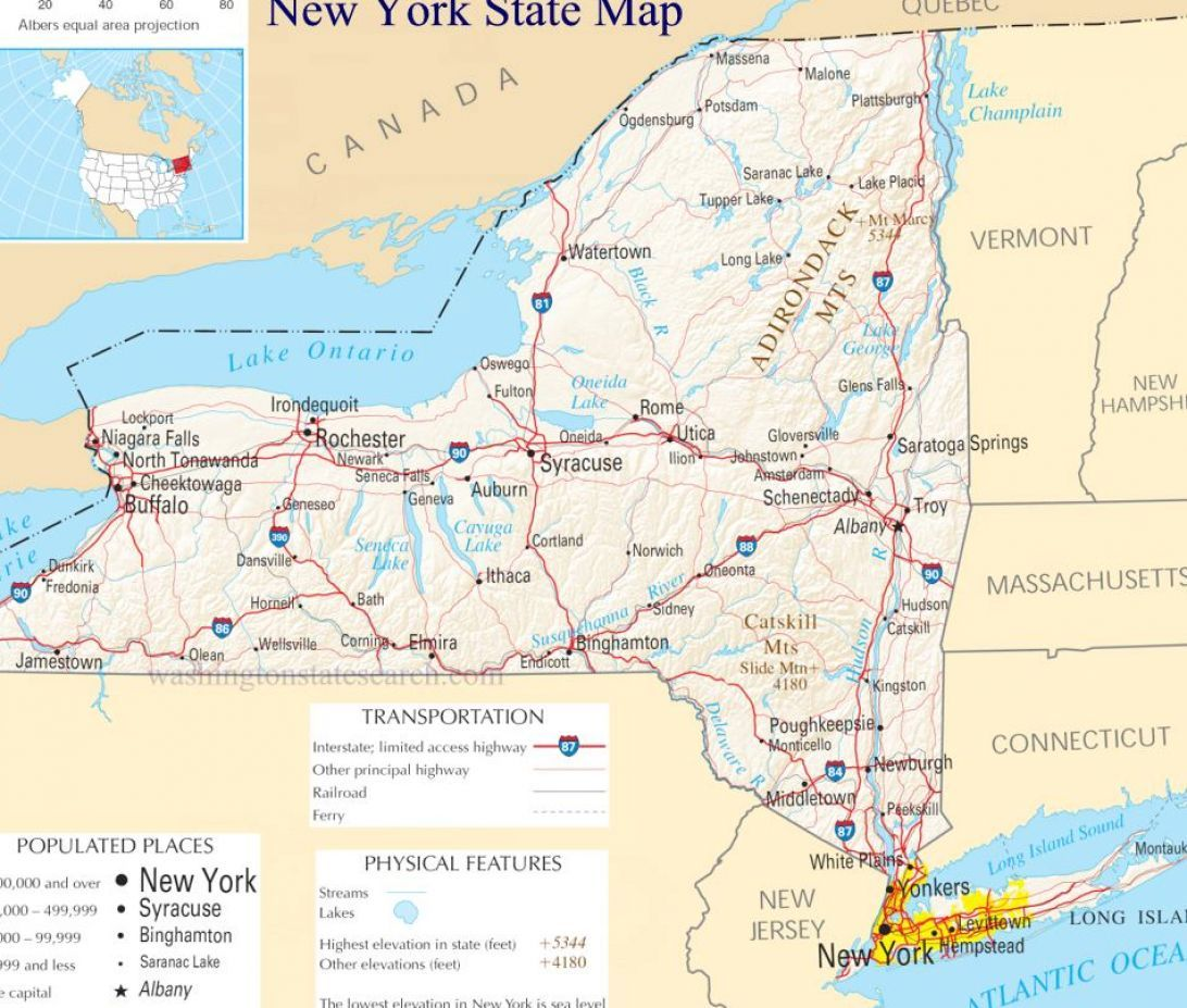 maps for kids new york New york state map for kids pictures 3
