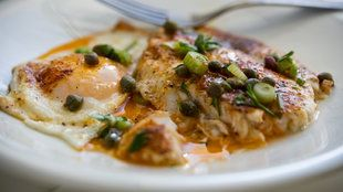 Photo of Flounder Fillets in a Beurre Blanc Sauce  cooking.nytimes.c…