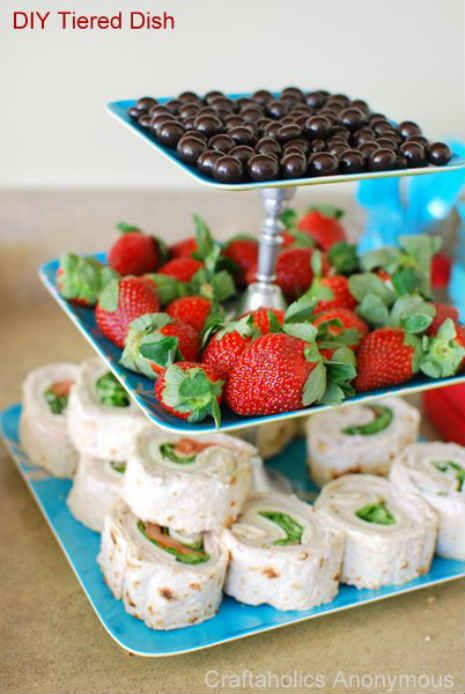 Diy tiered dessert tray this would be so easy and can be super diy tiered dessert tray this would be so easy and can be super inexpensive if solutioingenieria Image collections