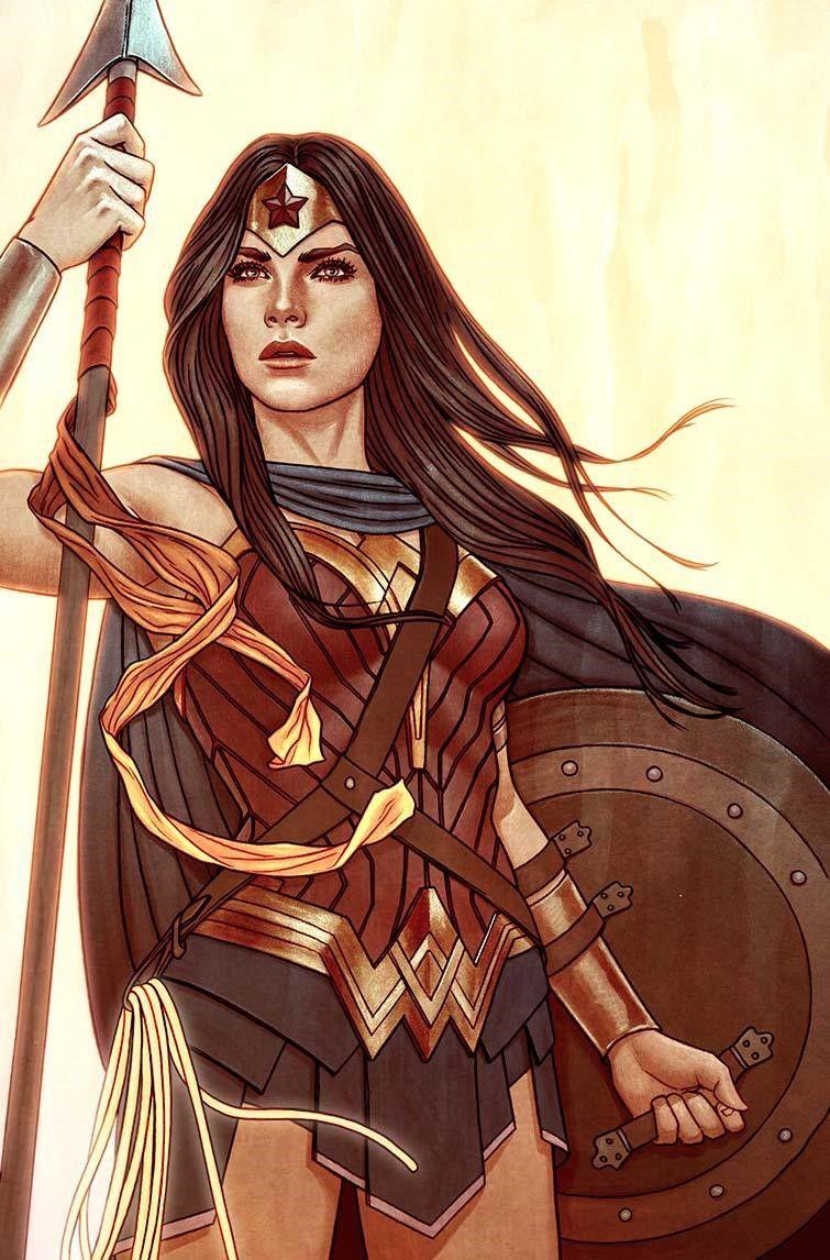 Variant Cover Art By Jenny Frison For Wonder Woman 18 Wonder