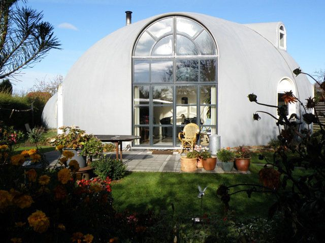 Beautiful Monolithic Dome Home In The Netherlands Monolithic Dome Homes Dome House Geodesic Dome Homes