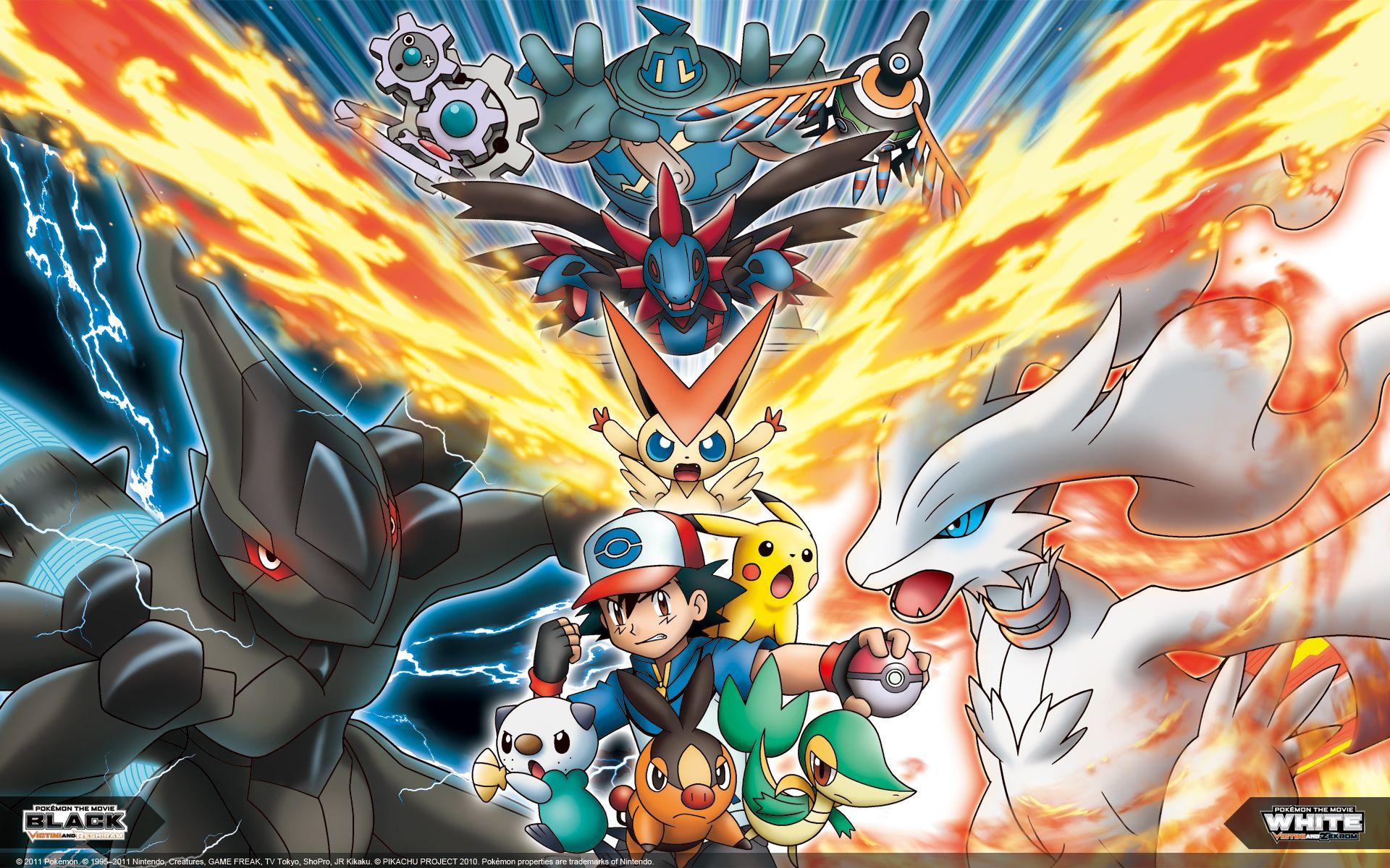 Pokemon Movie Wallpaper WallpaperSafari Покемон и Подарок