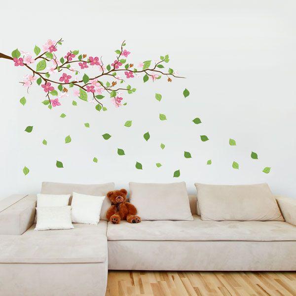 adesivo - floral