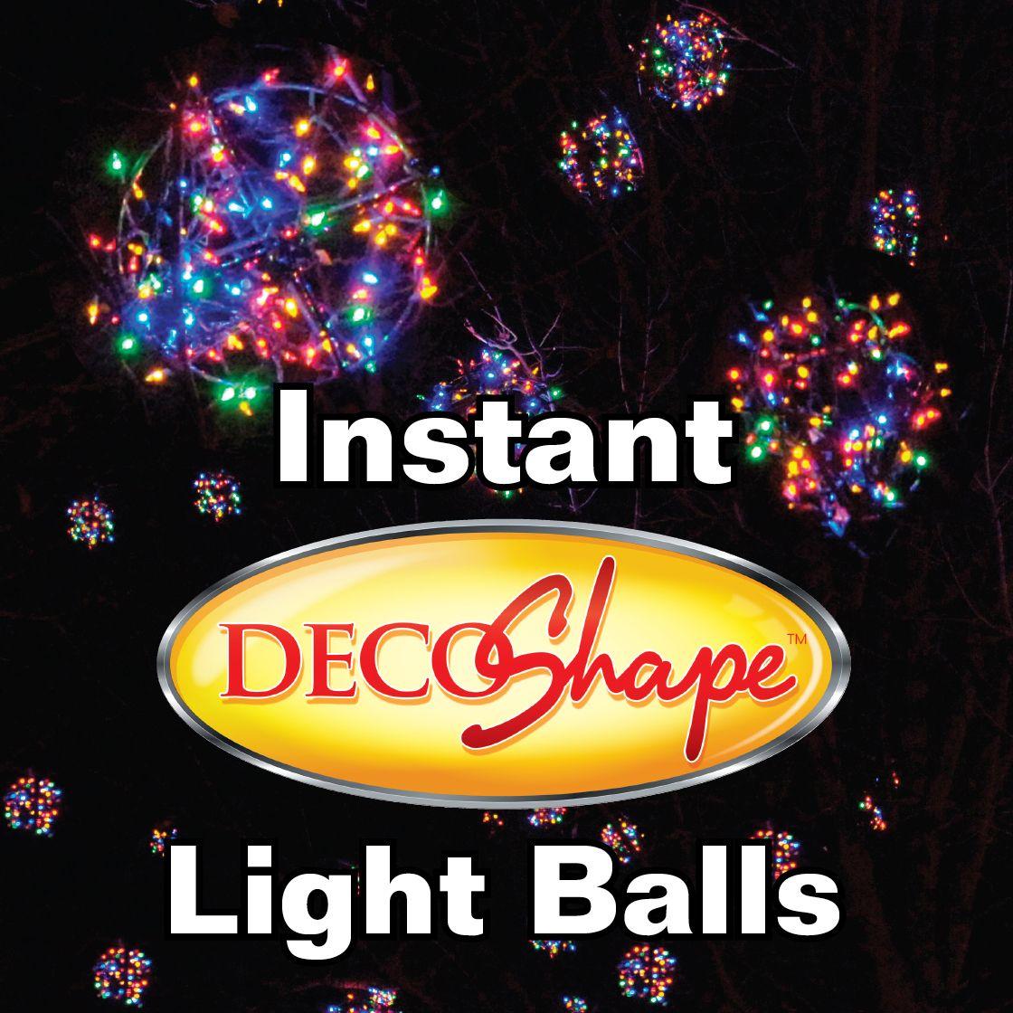 no wire lighting. Instant Light Balls! No More Chicken Wire! Snap, Wrap, Enjoy! Www Wire Lighting 8