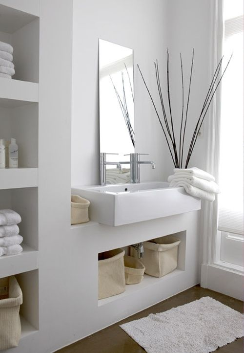 La salle de bain moderne – 12 idees ,simple et chic | Bathroom ...