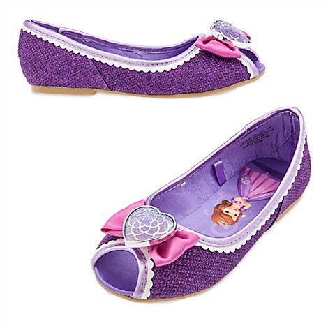 eebafbea5cb0 Sofia the First Costume Shoes for Kids