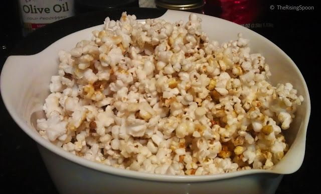 The Rising Spoon Blog: Recipe for Homemade Vegan Kettle Corn with Coconut Oil