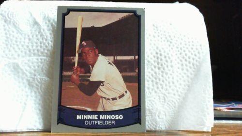 PTC. 1988 BASEBALL LEGENDS MINNIE MINOSO CARD # 51.