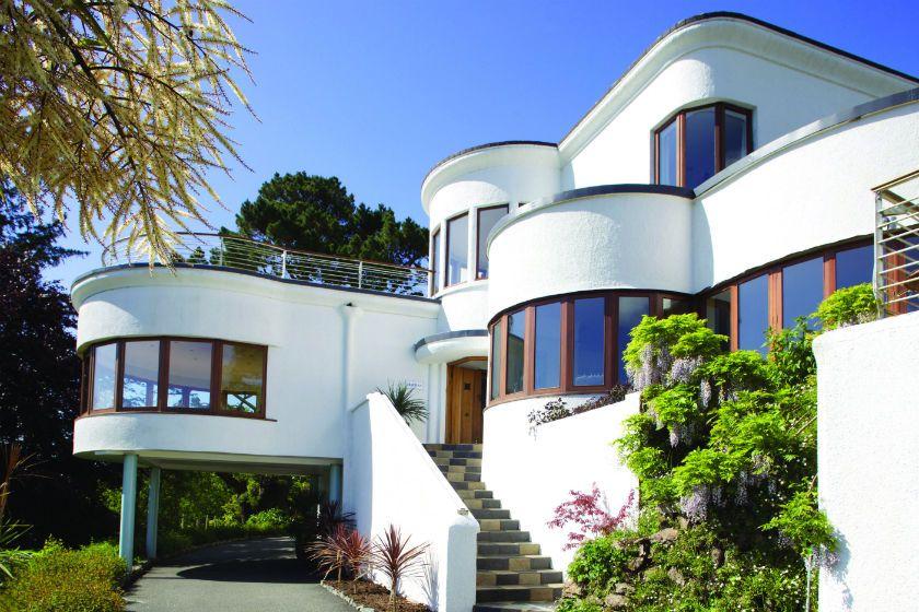 Art Deco Houses For Sale In Uk Arquitectura Casas Arquitectura Casa Redonda