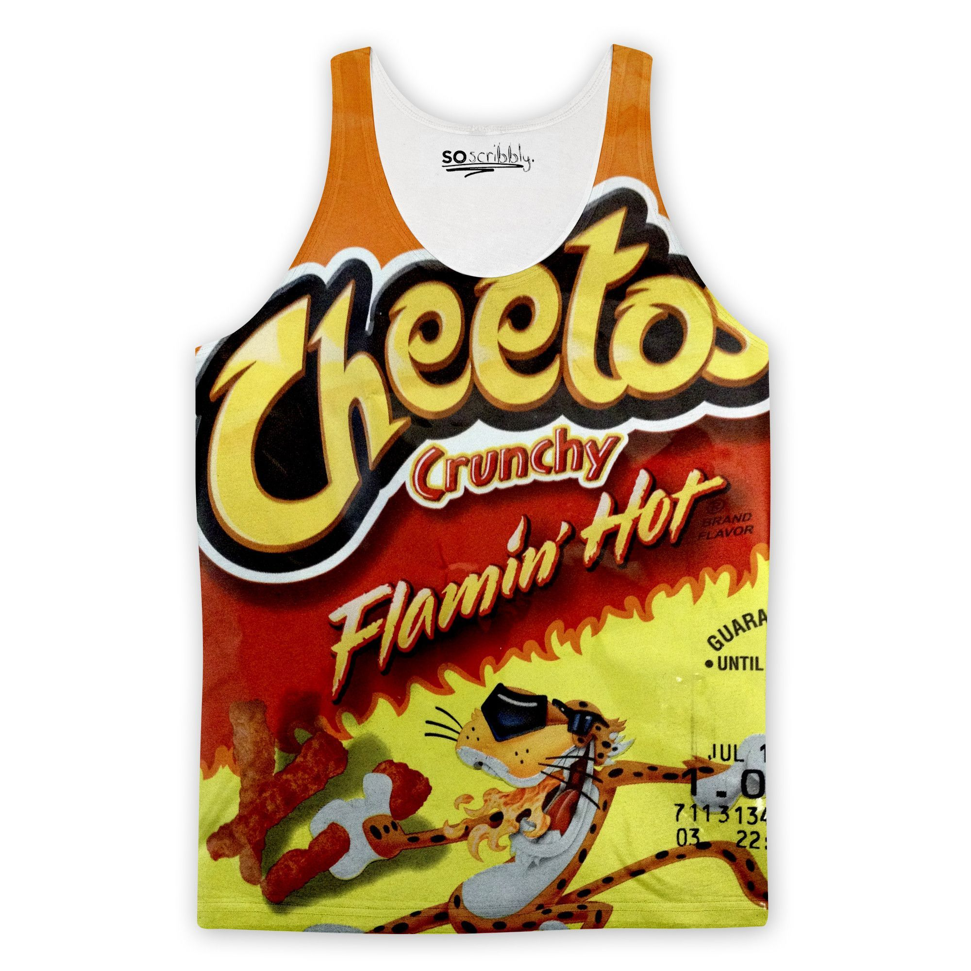 Flamin' Hot Cheetos Tank Top | Expressive Clothing | Tank